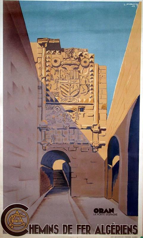 Affiche oran 1948