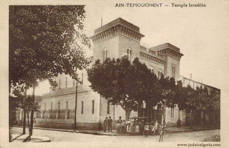 Ain temouchent la synagogue