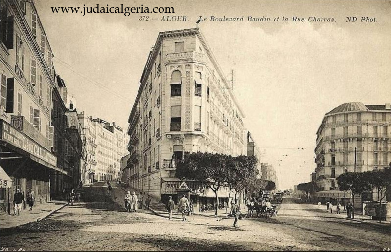 Alger bd baudin et rue charras