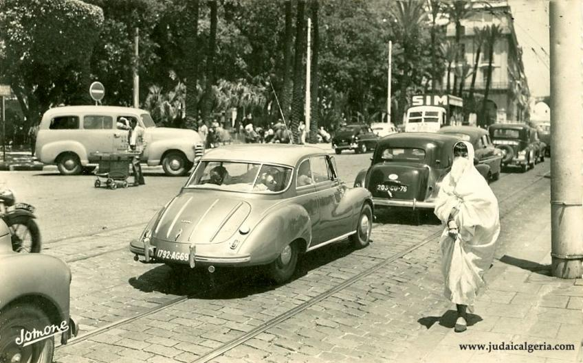 Alger bd de la republique 1960