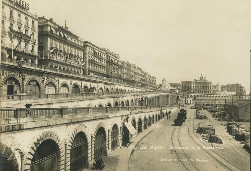 Alger boulevard de la republique