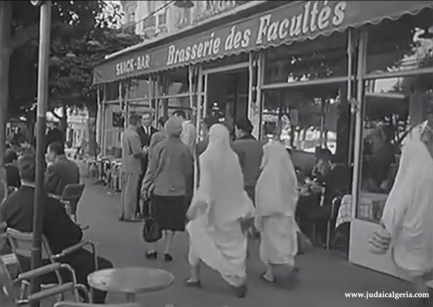 Alger brasserie des facultes 1960