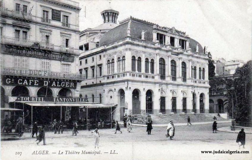Alger cafe tantonville et le theatre municipal