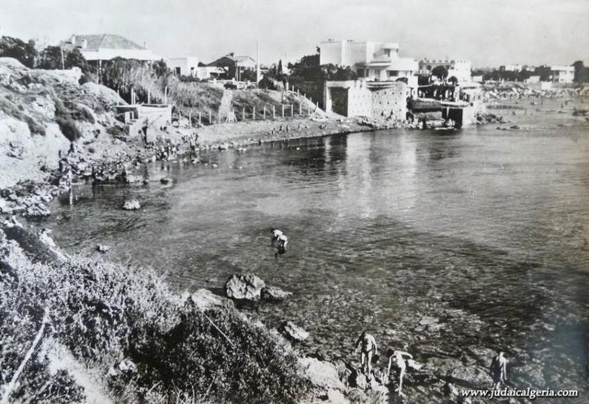 Alger cap matifou chemin des ruines et la plage