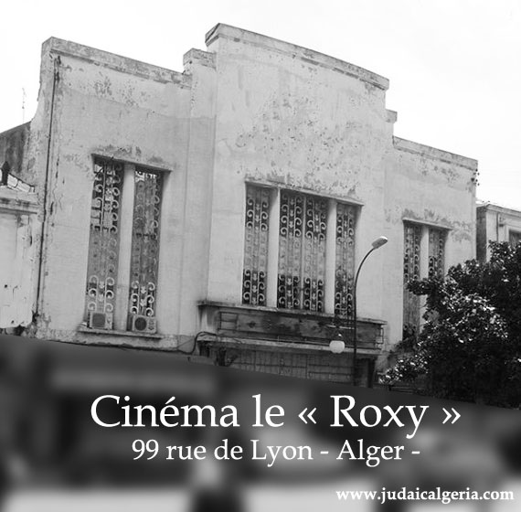 Alger cinema le roxy