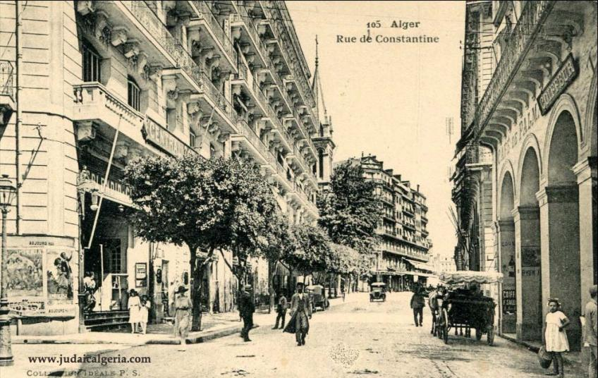 Alger cinema le splendid rue de constantine