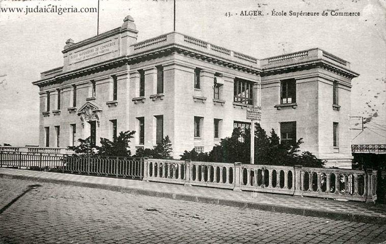 Alger ecole superieure de commerce