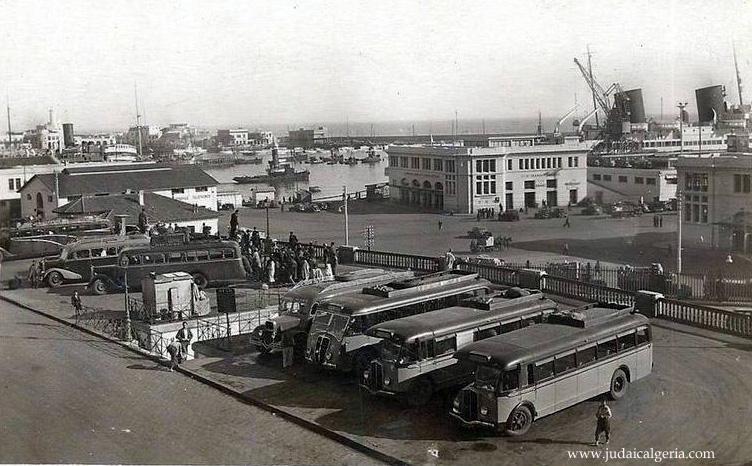 Alger gare routiere 1937 les car renault 1