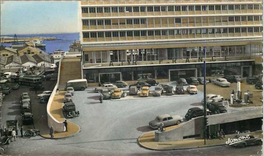 Alger immeuble mauritania annees 50