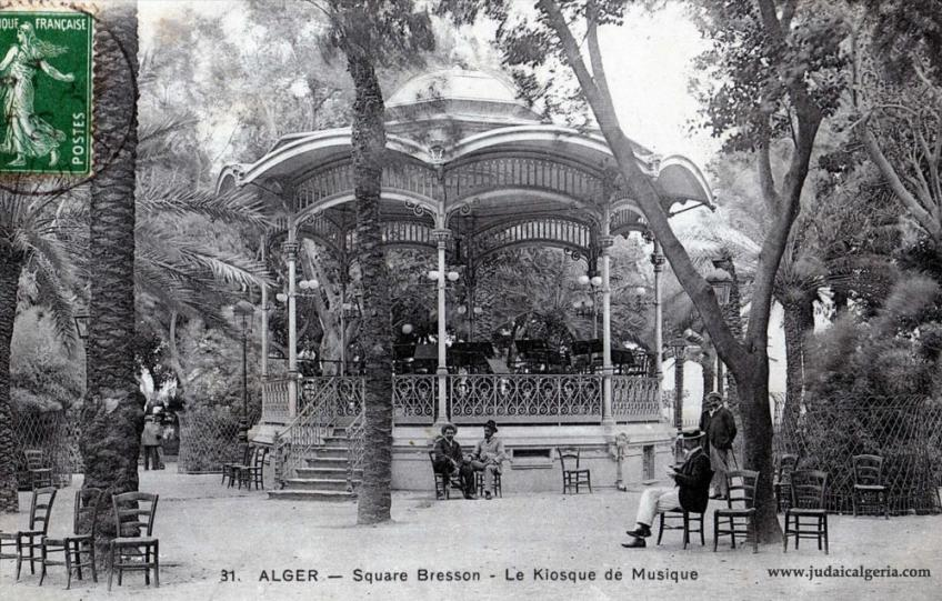 Alger kiosque square bresson
