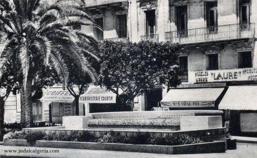 Alger la fontaine lumineuse