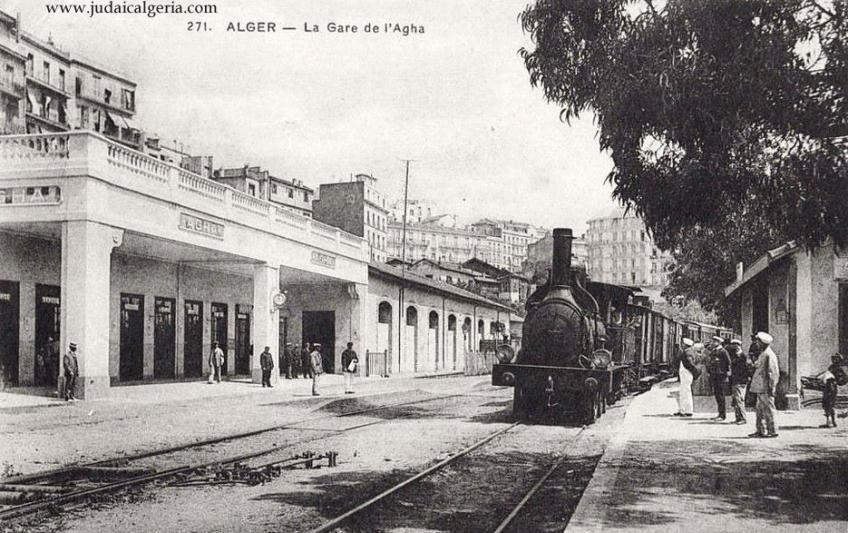Alger la gare de l agha