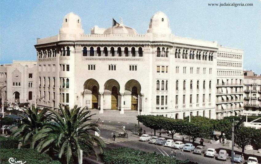 Alger la grande poste annees 1960