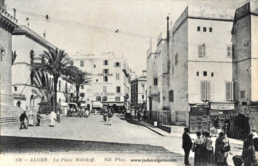Alger la place malakof