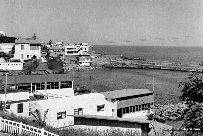 Alger la pointe pescade la plage franco et le port