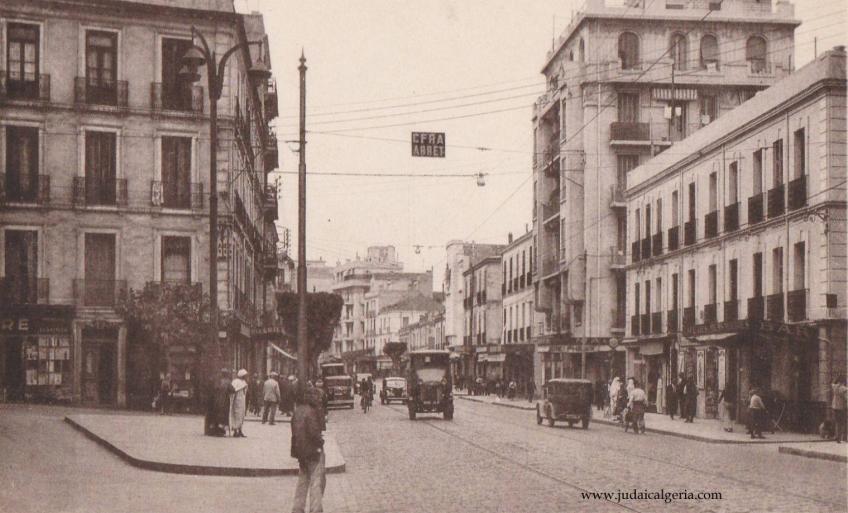Alger la rue de lyon