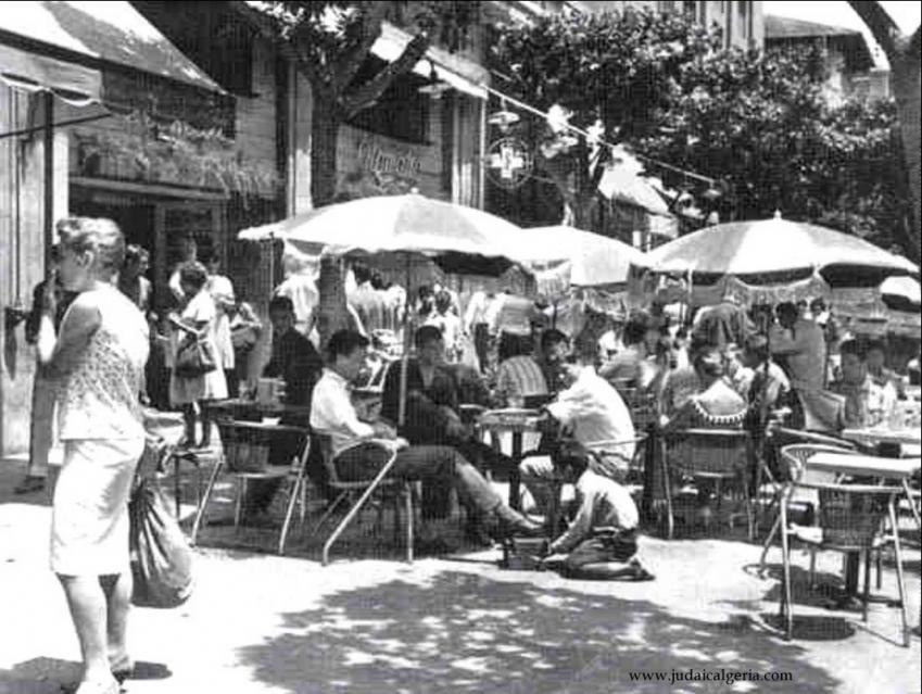 Alger la terrasse du bar l otomatic 1