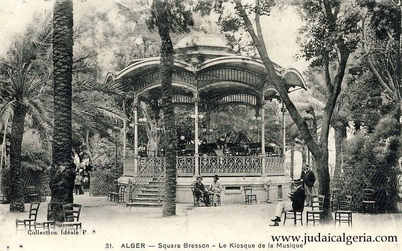 Alger le kiosque a musique du square bresson 3