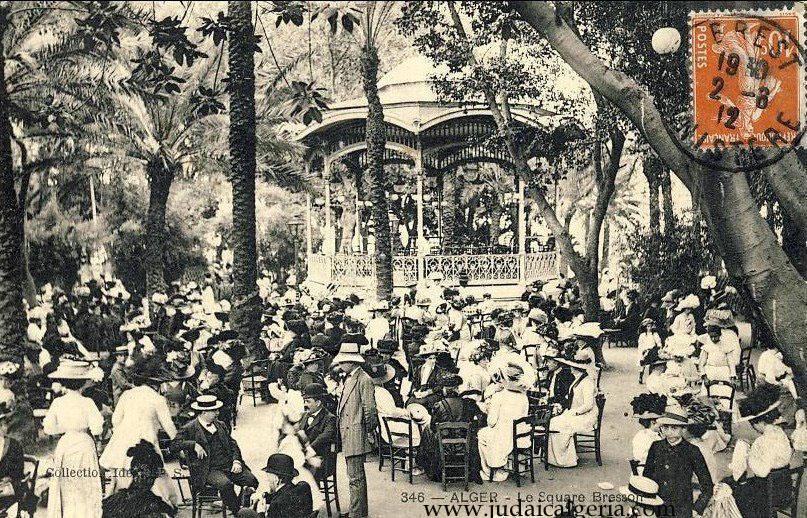 Alger le kiosque a musique du square bresson