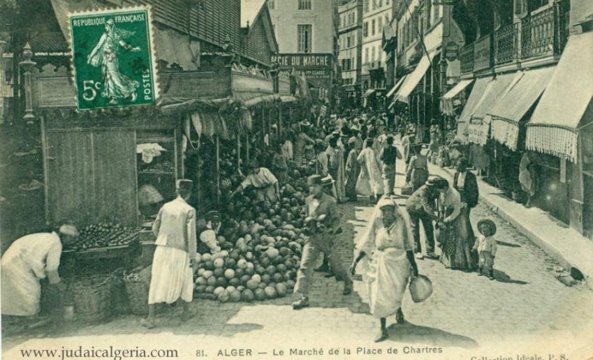 Alger le marche de la place de chartres 2