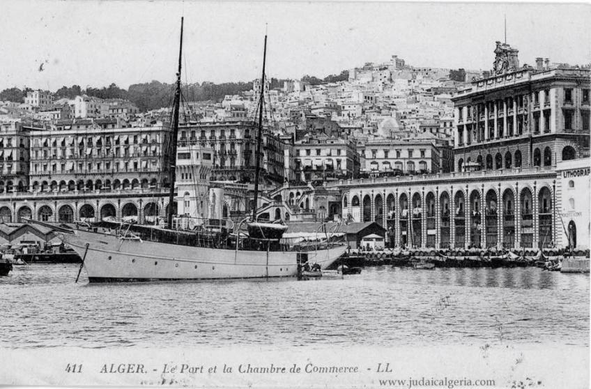 Alger le port et la chambre de commerce