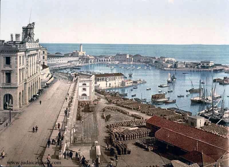 Alger le port et les docks