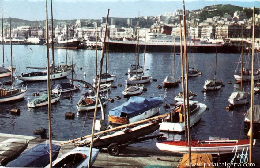 Alger le port et vue generale 1