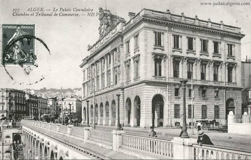 Alger palais consulaire et tribunal de commerce