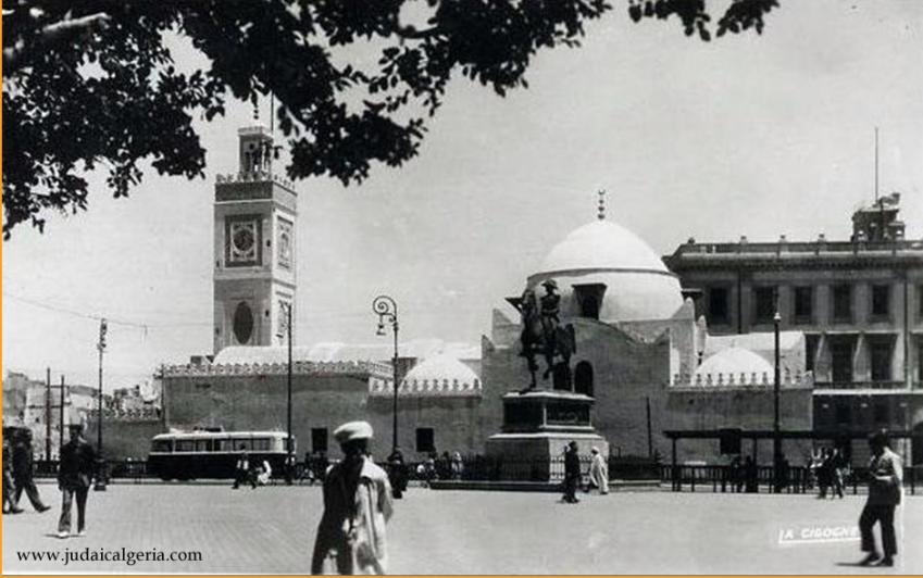 Alger place du gouvernement 1952