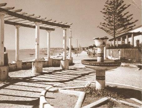 Alger plage promenade servajean