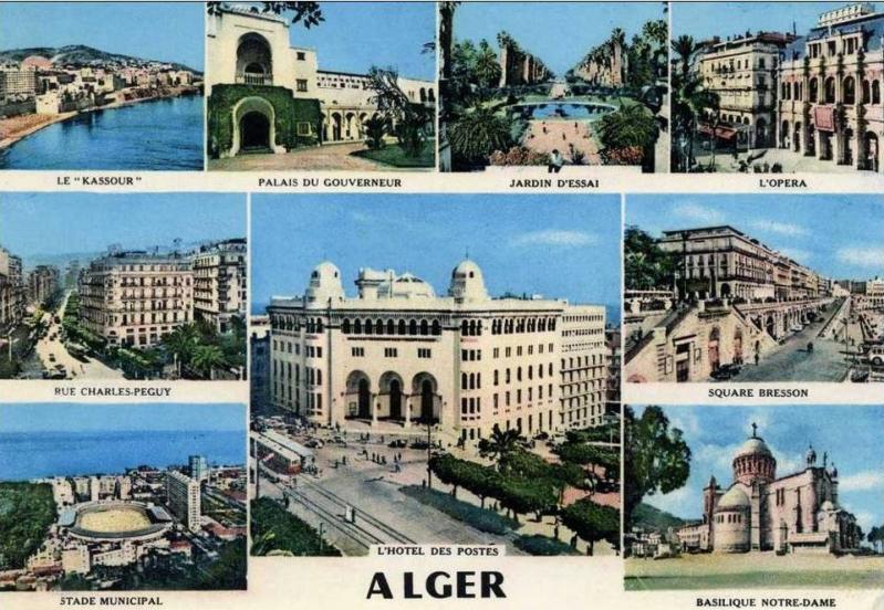 Alger plusieurs vues 1