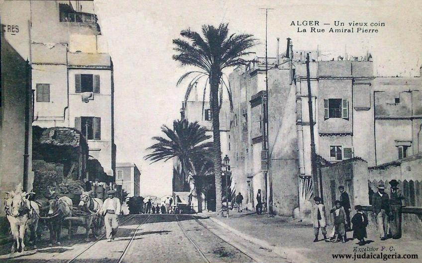 Alger rue amiral pierre 1905