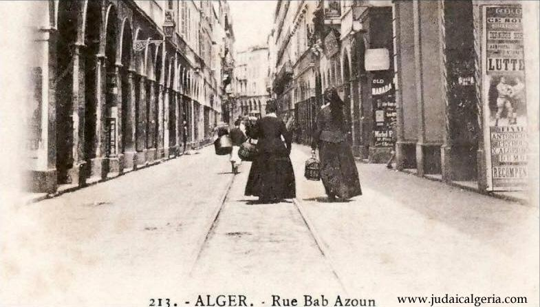 Alger rue bab azoun