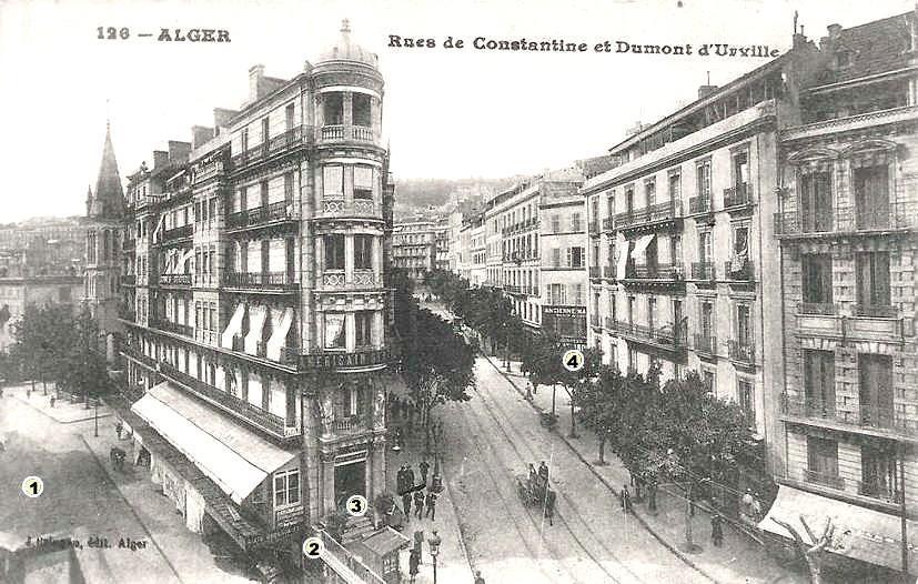 Alger rue de constantine et dumont d urville 2