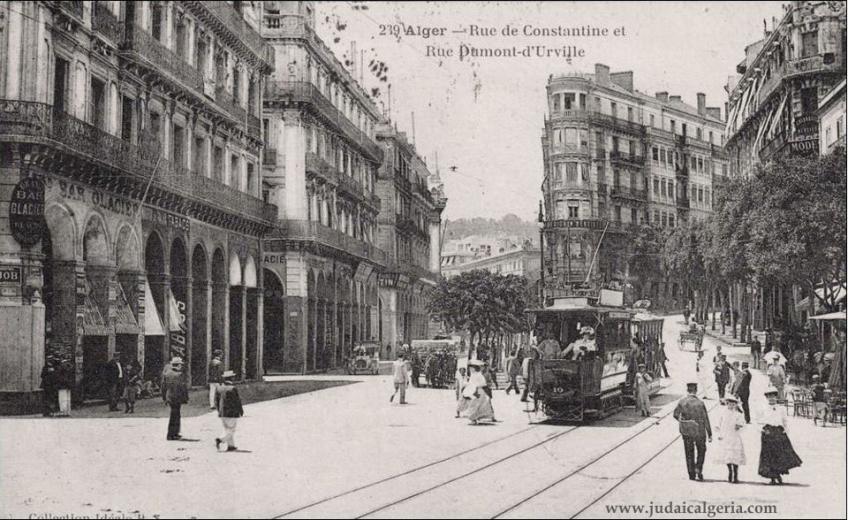 Alger rue de constantine et dumont d urville