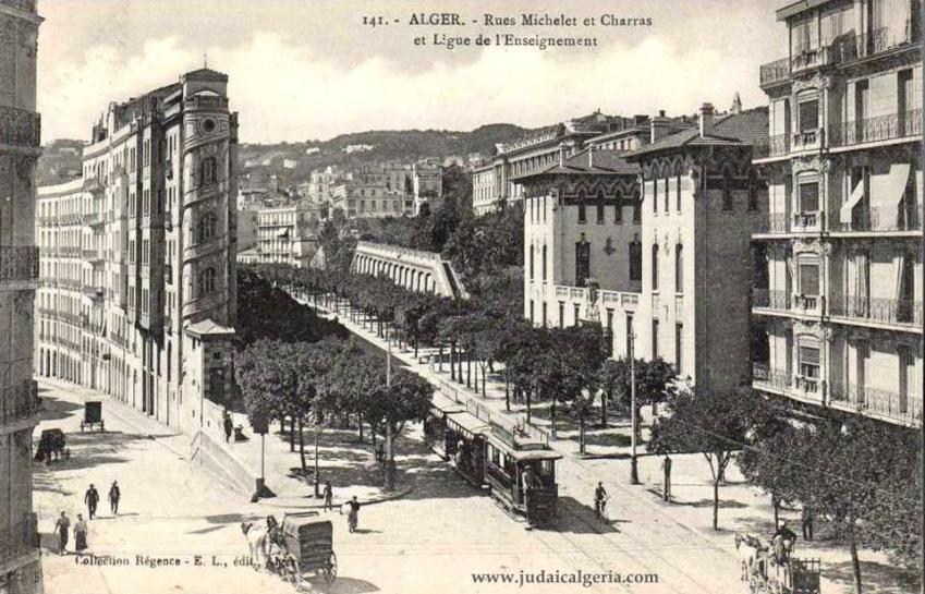 Alger rue michelet angle rue charras
