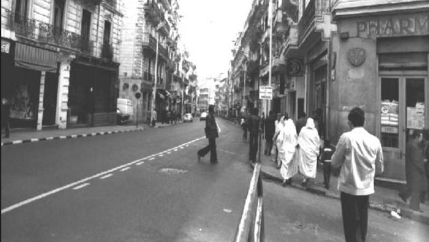 Alger rue michelet angle rue horace vernet