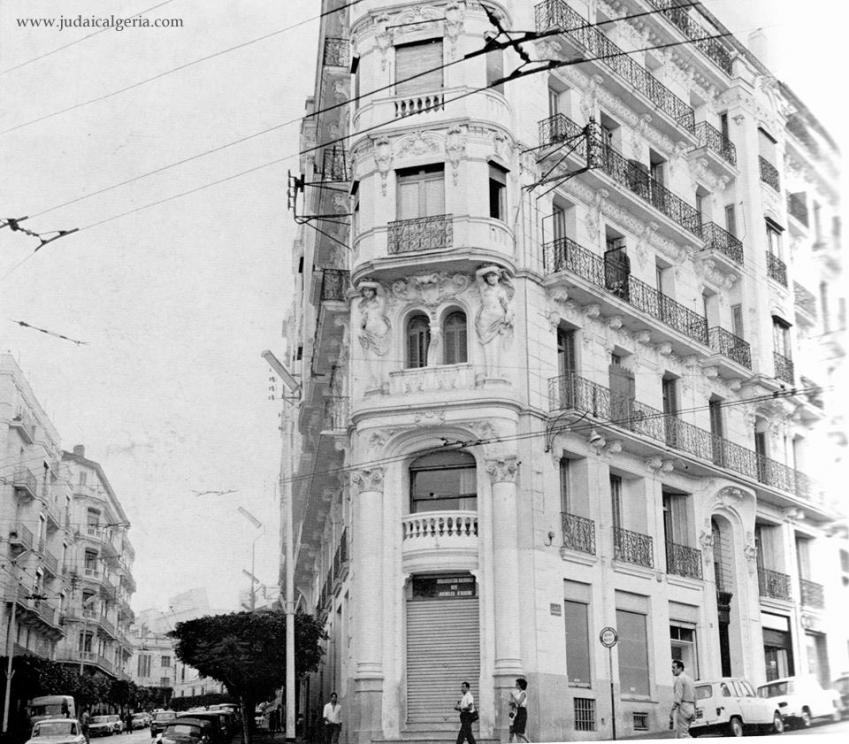Alger rue monge bel immeuble