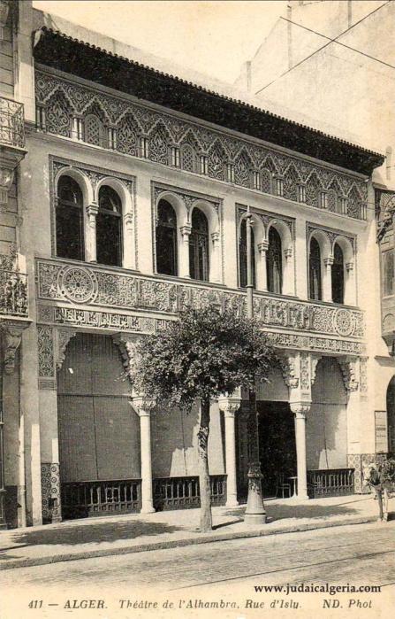 Alger theatre de l alhambra rue d isly