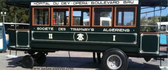 Alger un des premiers tramways