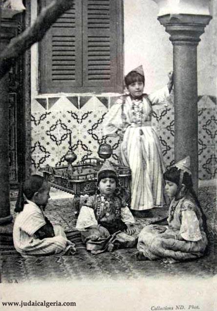 Algerie enfants juifs
