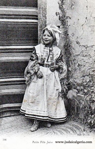 Algerie petite fille juive