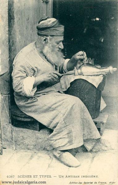 Artisan juif d algerie