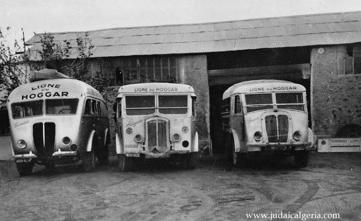 Autocars de la ligne du hoggar