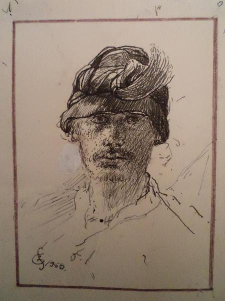 Autoportrait jf galea