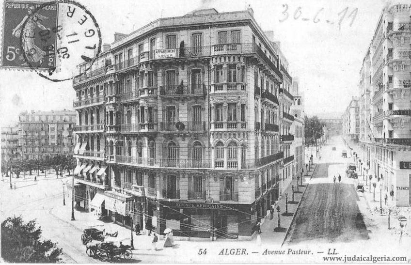 Avenue pasteur 1911
