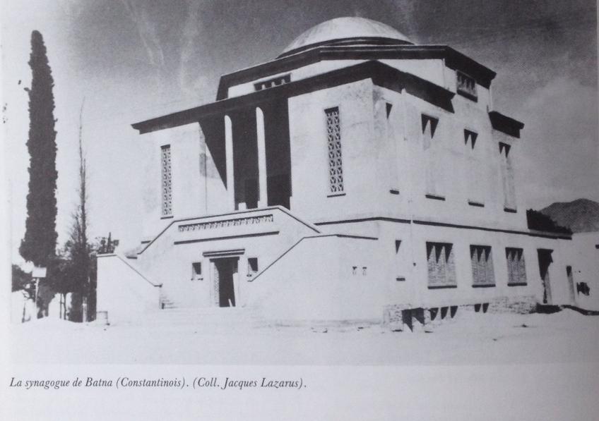 Batna l ancienne synagogue