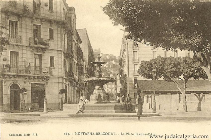 Belcourt la place jeanne d arc