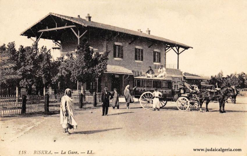 Biskra la gare