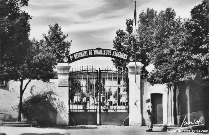 Blida boulevard trumelet les tirailleurs algeriens